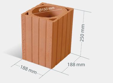 Pustak ceramiczny 8 cm cena